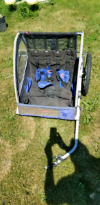 2 seat bicycle trailer