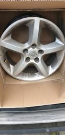 Vauxhall 17 inch sri alloys