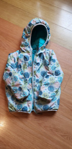 Girls 4t reversible winter coat