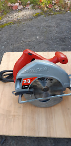 SKIL 7 & 1/4 INCH CIRCULAR SAW WITH NEW 18 TOOTH BLADE