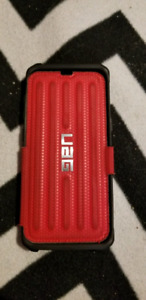 """UAG Samsung Galaxy S8 Wallet Phone Case """"Red"""""""