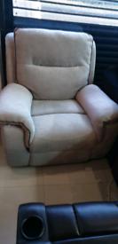 Fabric Recliner Armchair Electric recliner