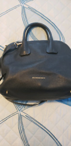 Burberry bowling bag in great condition!