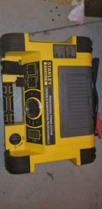 Stanley all in one air compressor USB and booster