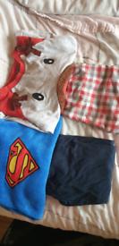 Pyjamas 4-5-6 years and school bundle