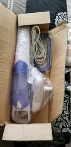 H2O mop neuf avec plusieurs accessoires