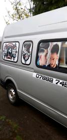 Mobile barber shop (van)