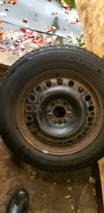 4 rims and tires 225/65/17