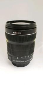 Lentille Canon 18-135mm