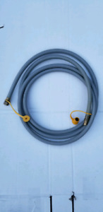 BBQ natural gas quick connect hose