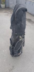 Howson clubs and cobra bag