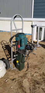 120/240 volt electric hydraulic power pack