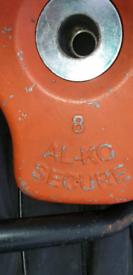 Al-Ko caravan wheel lock