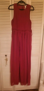 Deep Red Gown size 14 $30.00