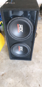 Sub woofer and amp like new 300 obo