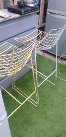Retro outdoors high stools