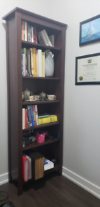 Available now - IKEA Bookcase 6' high (80$)