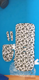 Mamas Papas pushchair liner (camouflage)
