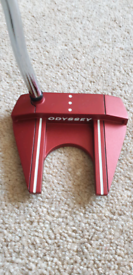 Odyssey o-works 7 tank red putter