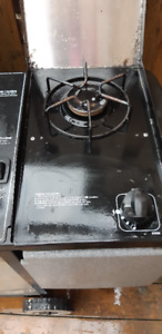 PROPANE BBQ WITH SITE BURNER WEBER SILVER