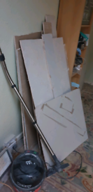 Plasterboard off cuts. Free to collect