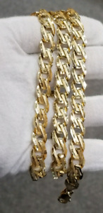 Solid Curb chain 10k Italian gold