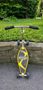 Authentic Asphalt Carving Scooter by FUSION, USA