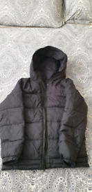 Vans Boys Black jacket age 12-14