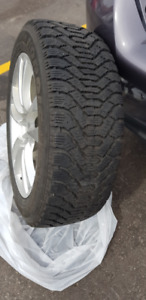 Set of 4 - 17in NORDIC SNOW TIRES ON RIMS