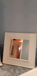 mirror style shabby chic,  dimension are; 2 feet by 2 feet