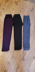 3 pairs of size 4t warm pants