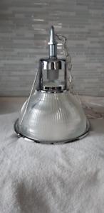 Super lampe suspendue, chromé,,,, pas plaqué