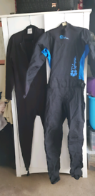 Ladies small drysuit for dingy sailing or watersports