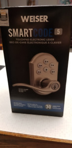 NEW Weiser SmartCode 5 Lever with Home connect  Electronic Lock