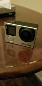 GoPro hero 4 with a screen