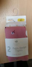 Baby tights pairs