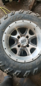 "ITP RIM AND TIRES 12"" HONDA 500cc"