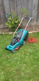 Bosch rotak 40 gc lawnmower in excellent condition