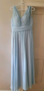 Sky blue bridesmaid dress (worn once)