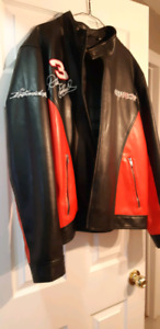 Rare dale ernheart leather jacket brand  new never wore