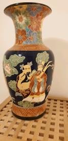 Large ceramic vase umbrella stand Chinese style