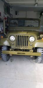 1971 jeep willys m38 A1