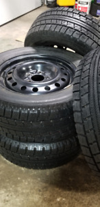 NITTO SN2 winter tire with rims  215/65R17..........$475