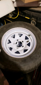 St205/75d14 trailer tires and rims