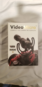 Rode VideoMicro Compact On-Camera Microphone - $65