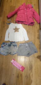 Bundle of girl's clothes