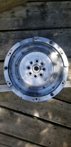 Audi  2.7 fidanza one piece aluminum flywheel and clutch kit