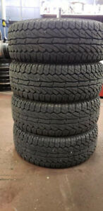 Ginell 1000 Mud tire 35x12.50R20, Only used 5 months!