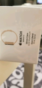 Apple watch series 3 unopened sealed in box. Pink sand