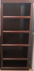 2 Beautiful cherry wood bookcases for sale- buy both or just one